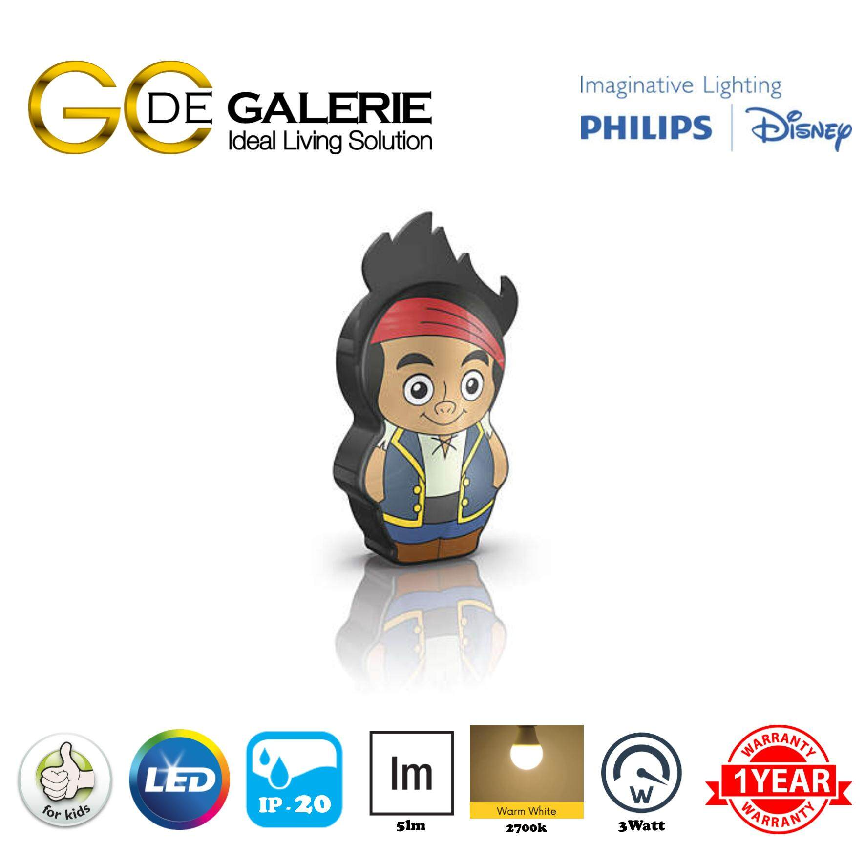 DISNEY FLASH LIGHT LED PHILIPS DISNEY JAKE