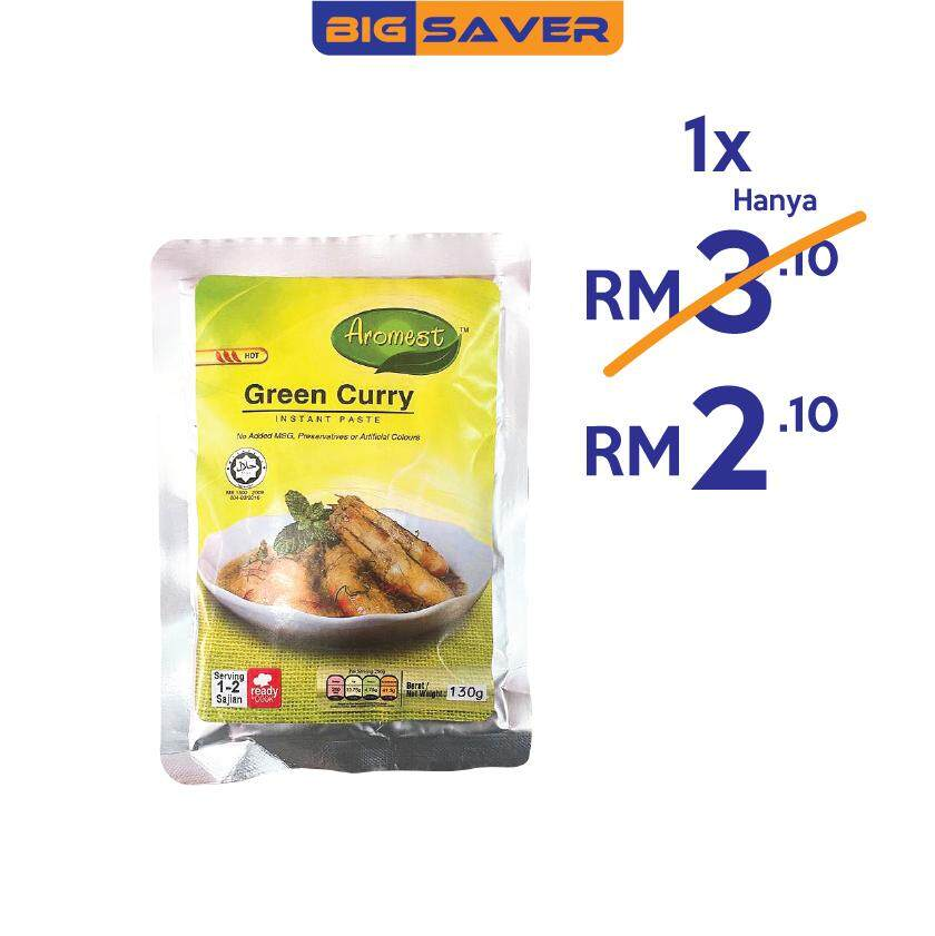 Aromest Green Curry  Instant Paste 130g