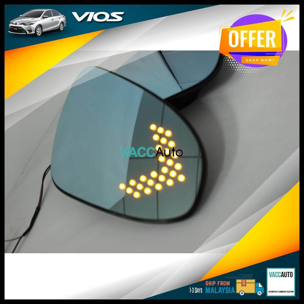 Toyota Vios 2013 - 2018 Blue Side Mirror with LED Signal
