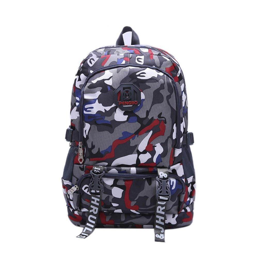 MV Bag Camouflage Backpack Laptop Travel Casual Durable Light Weight Waterproof Beg 411 MI4114