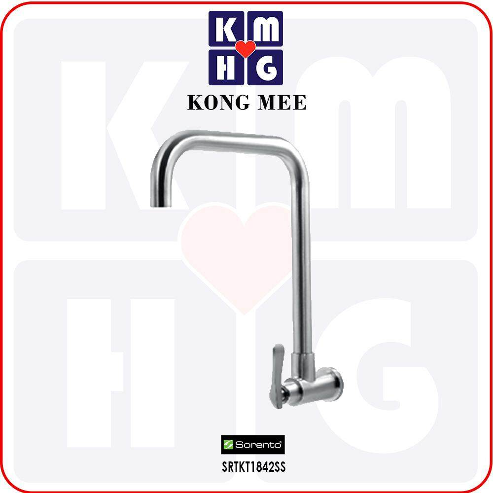 Sorento Italy - High Quality G304 Stainless Steel Wall Mounted Kitchen Tap (SRTKT1842SS)