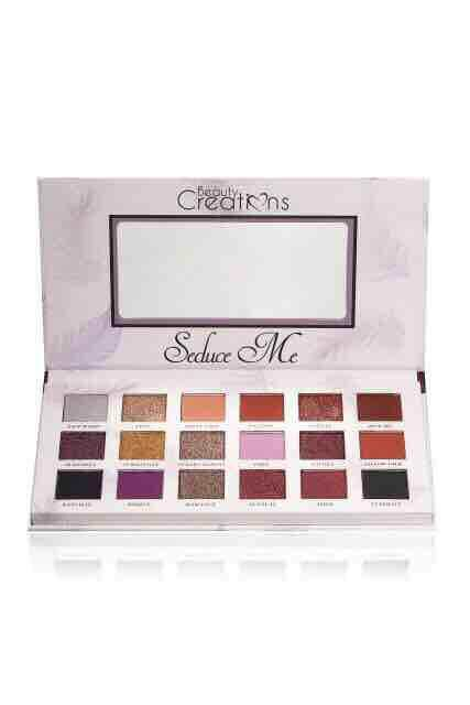 Seduce Me Beauty Creations Eyeshadow Palette Beauty Cosmetics + Free Gift