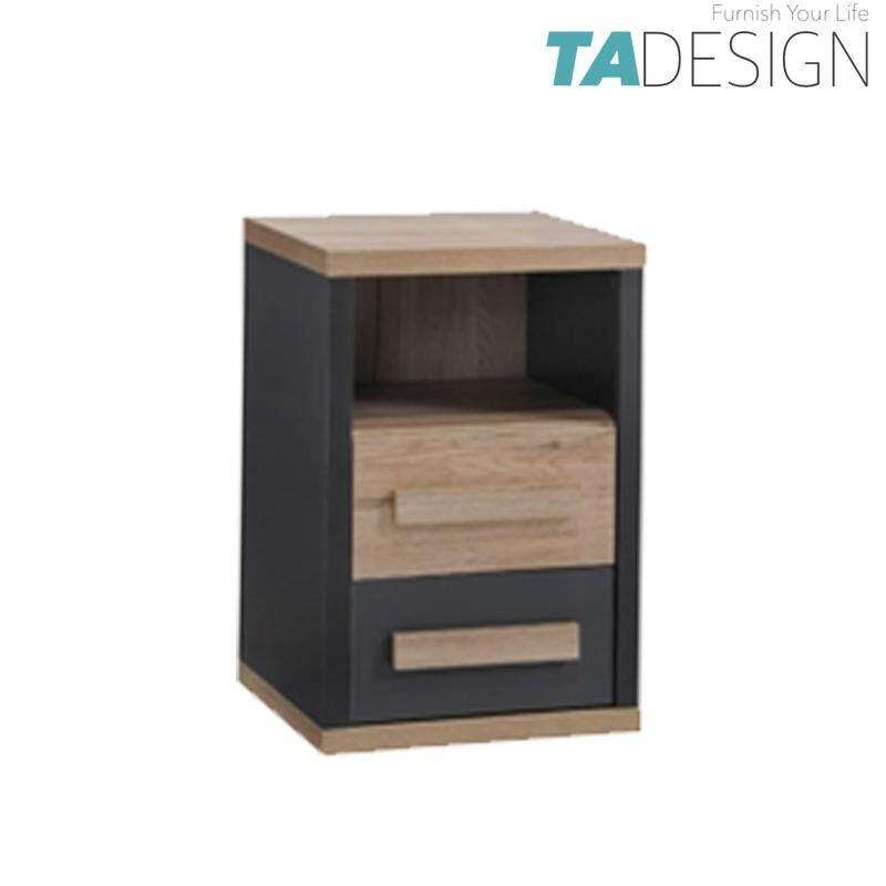 TAD KOBI 2 drawer bedside table bedside cabinet bedside drawers