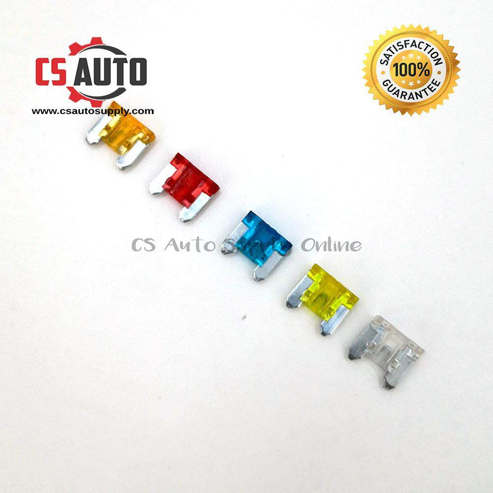 10pcs Toyota Mini Fuse 5a 10a 15a 20a 25a for Toyota (assorted)