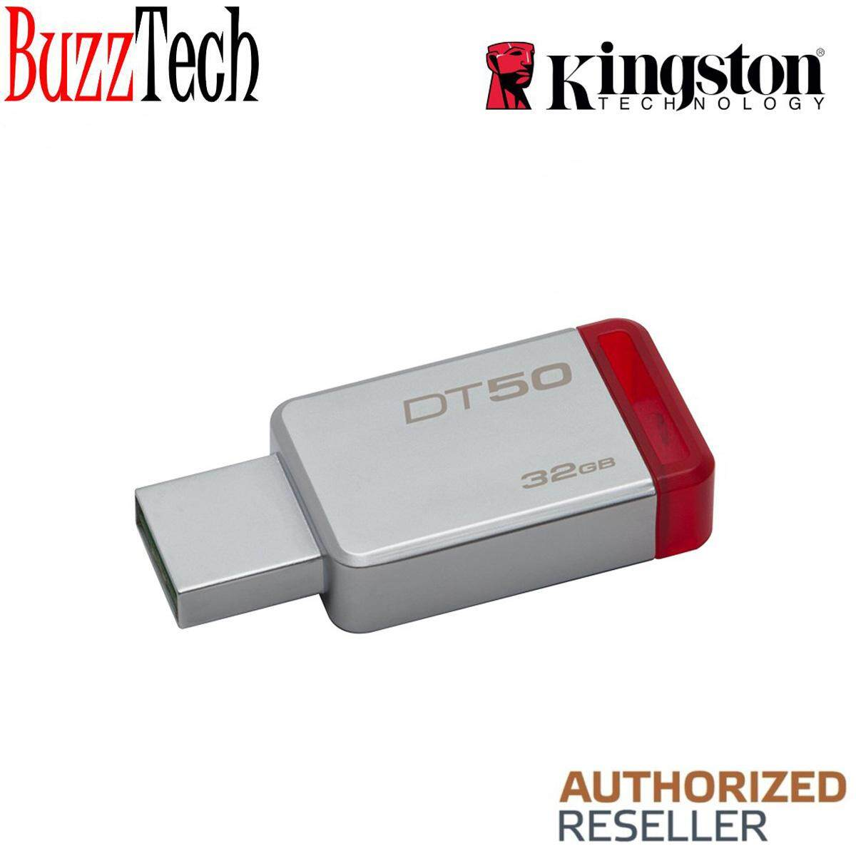 BuzzTech Kingston DataTraveler DT50 32GB USB Drive/ Pendrive USB3.1 (100% Original)