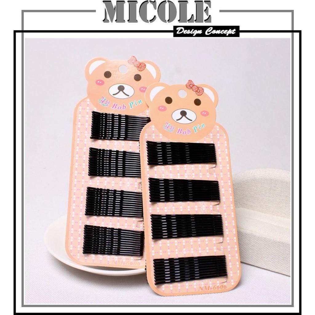 MICOLE A702 Bob Pins Invisible Hair Clip Hair Clips Pin Rambut