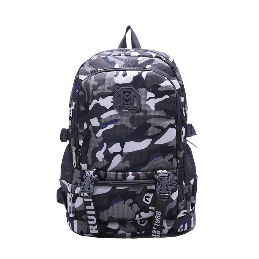 MV Bag Camouflage Backpack Laptop Travel Casual Durable Light Weight Waterproof Beg 411 MI4111