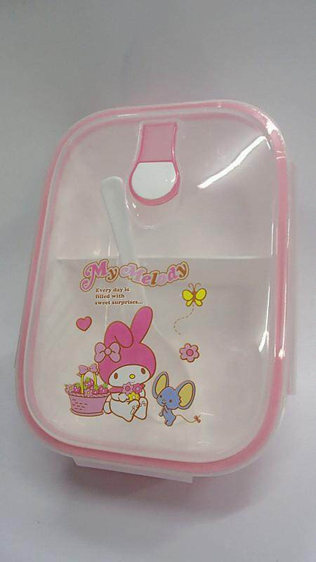 [Ready Stock] Cartoon Lunch Box Food Containers (BGJAYA)-My Melody