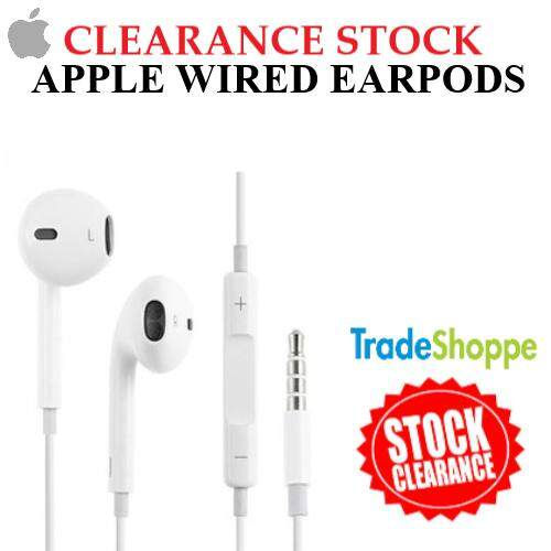 [CLEARANCE STOCK] Apple Wired Earpods with Remote and Mic Suitable For Iphone/Android