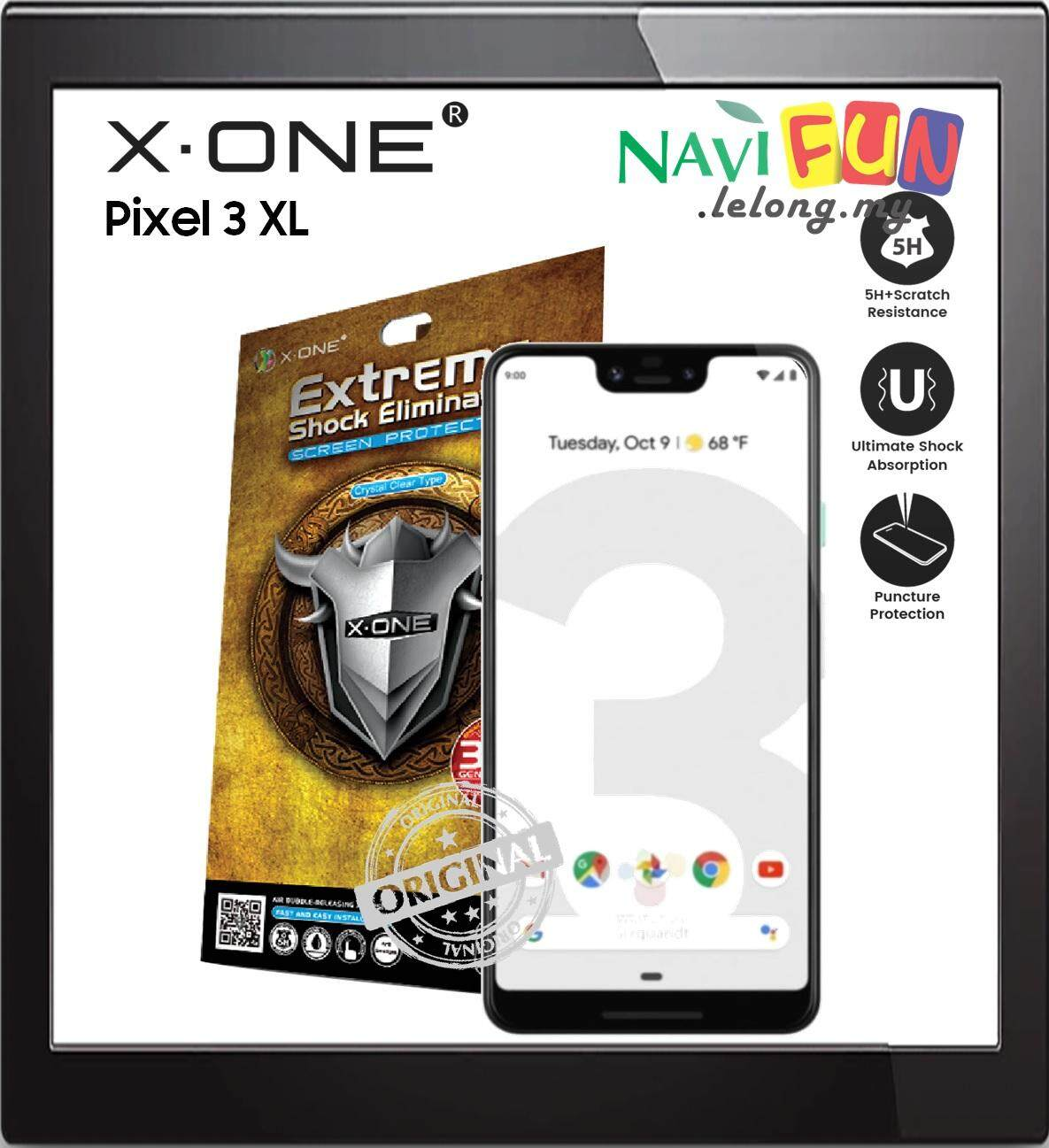 X-One Extreme Shock Eliminator Screen Protector Pixel 3 XL