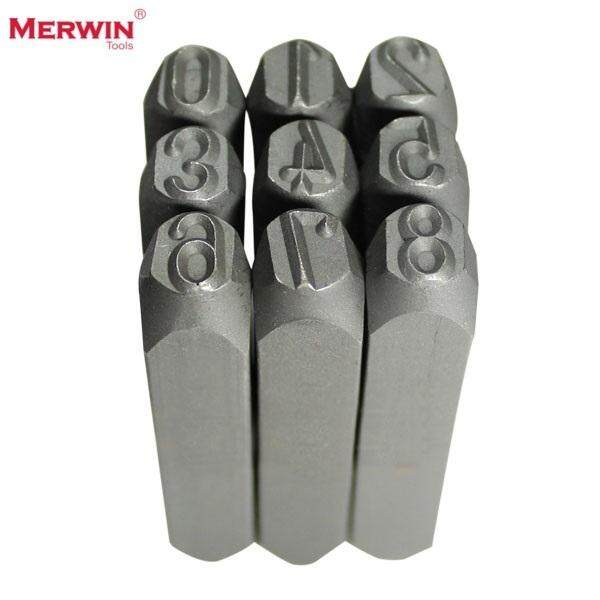 Merwin 4mm Number Stamping Punch Set