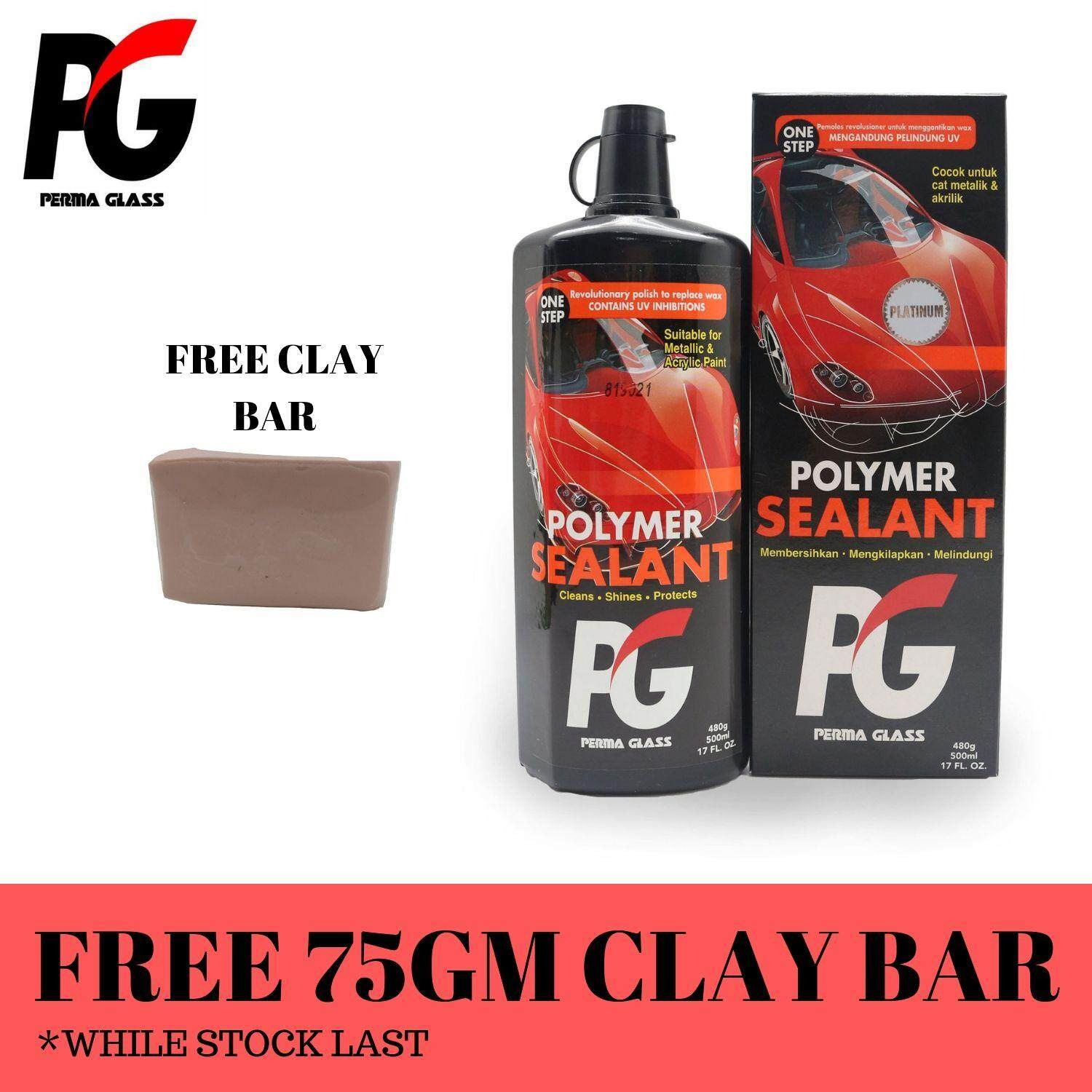 PG PERMA GLASS POLYMER SEALANT (500ML) - CAR PAINT SEALANT AND PROTECTION