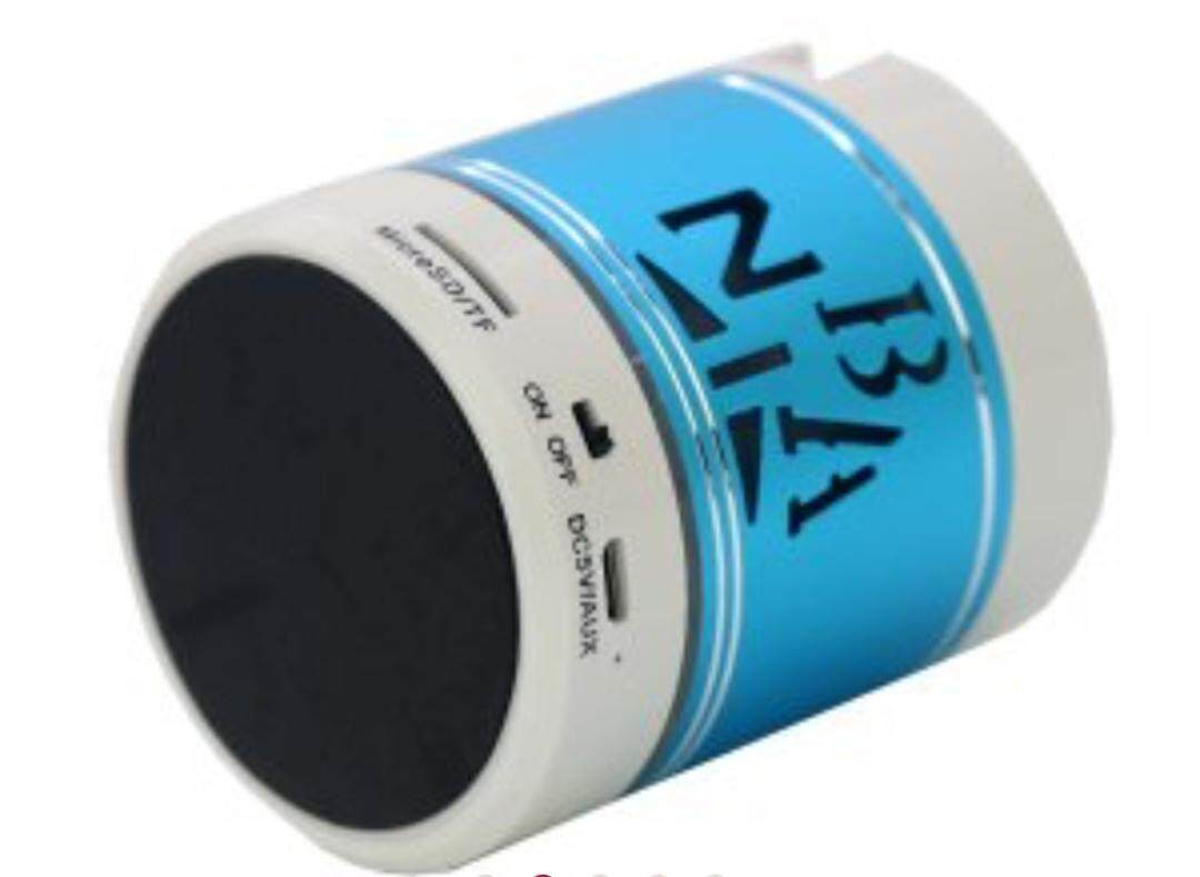 NBA Mini Bluetooth Wireless Speaker FM, Memory Card, Bluetooth, USB. (High Quality Speakers)