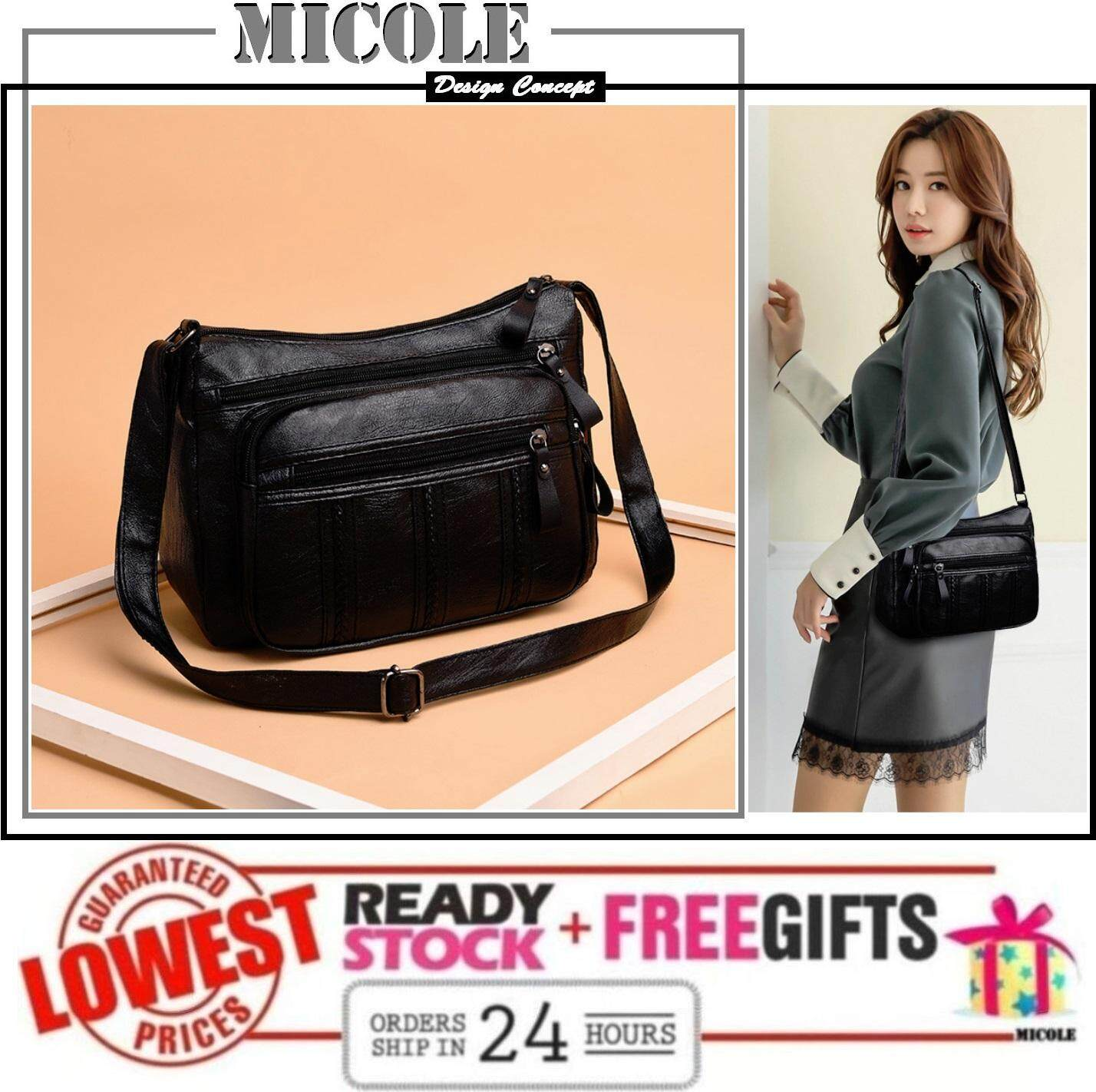 MICOLE SB2276 Korean Shoulder Bag Handbag Women Sling Bag Beg