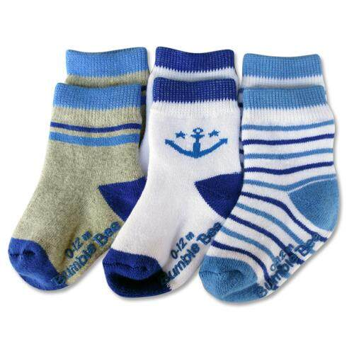 Bumble Bee 3 Pairs Pack Boy Seadream Socks