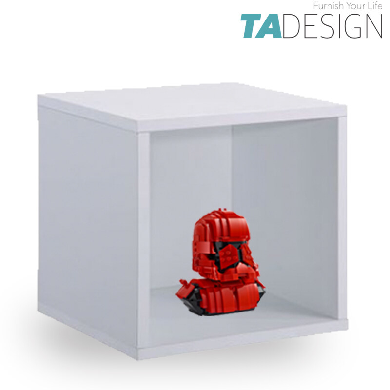 TAD FLEXI DY-3 wooden DIY stackable storage cube cabinet book megazine rack book shelf display cabinet