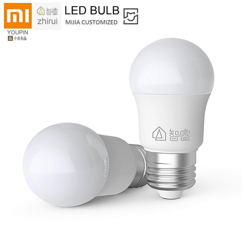 [New] Xiaomi Ecosystem ZHIRUI LED Bulb Mijia Customized - E27 6500K White Light Lamp (1pcs)