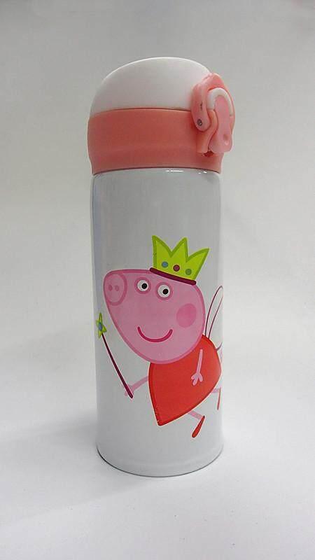 350ML Cartoon 304 Stainless Steel Thermos Flask (BGJAYA)-Peppa Pig