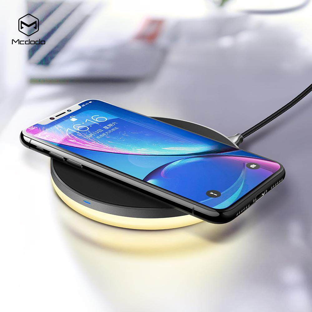 【Wireless】Mcdodo Dream Series Wireless Charging Pad 7.5W with Night Light