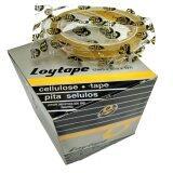 Loytape Cellulose Tape 12mm x 40m (12 Rolls/box)