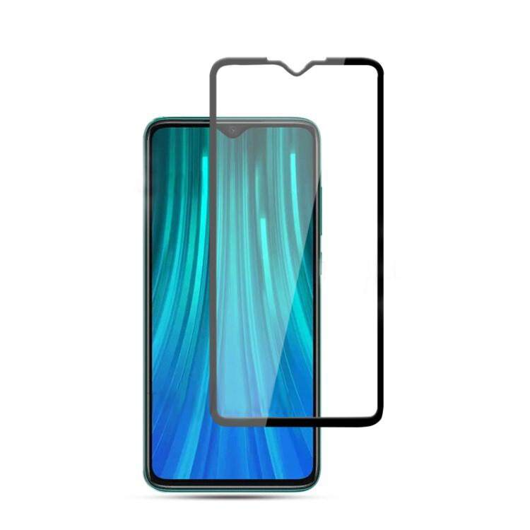 Tempered Glass for Xiaomi Redmi NOTE 8 - 2.5D Curve Screen Protector [Full Cover Black]