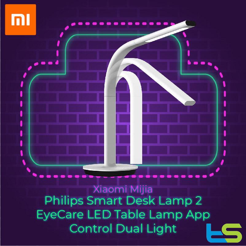 Xiaomi Mijia Philips Smart Desk Lamp 2 EyeCare LED Table Lamp App Control Dual Light