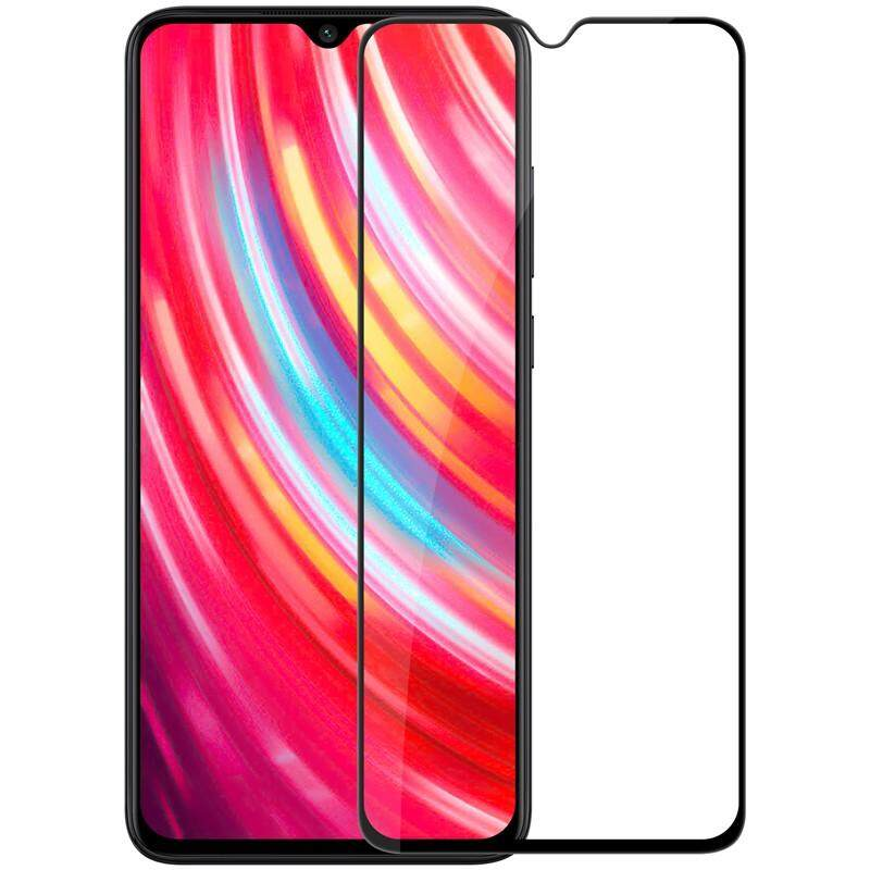 Tempered Glass for Xiaomi Redmi NOTE 8 PRO - 2.5D Curve Screen Protector [Full Cover Black]