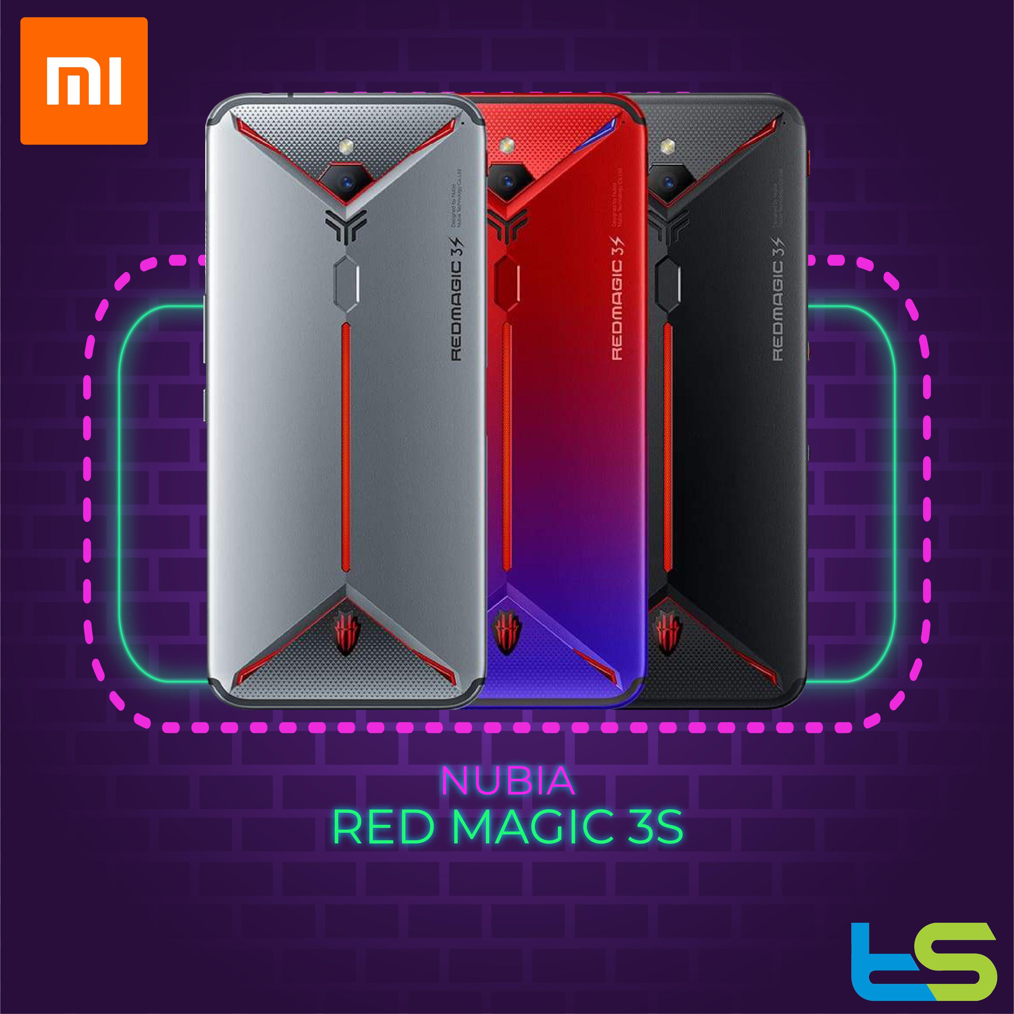 Nubia Red Magic 3S 8+128GB / 12+256GB [1 Year Local Malaysia Warranty]
