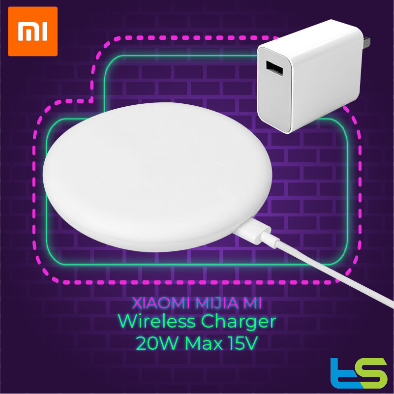 Original Xiaomi Wireless Charger 20W Max 15V Apply to Xiaomi Mi9 MiX 2S Mix 3 Qi EPP10W For iPhone XS XR XS MAX [MDY-10-EP]