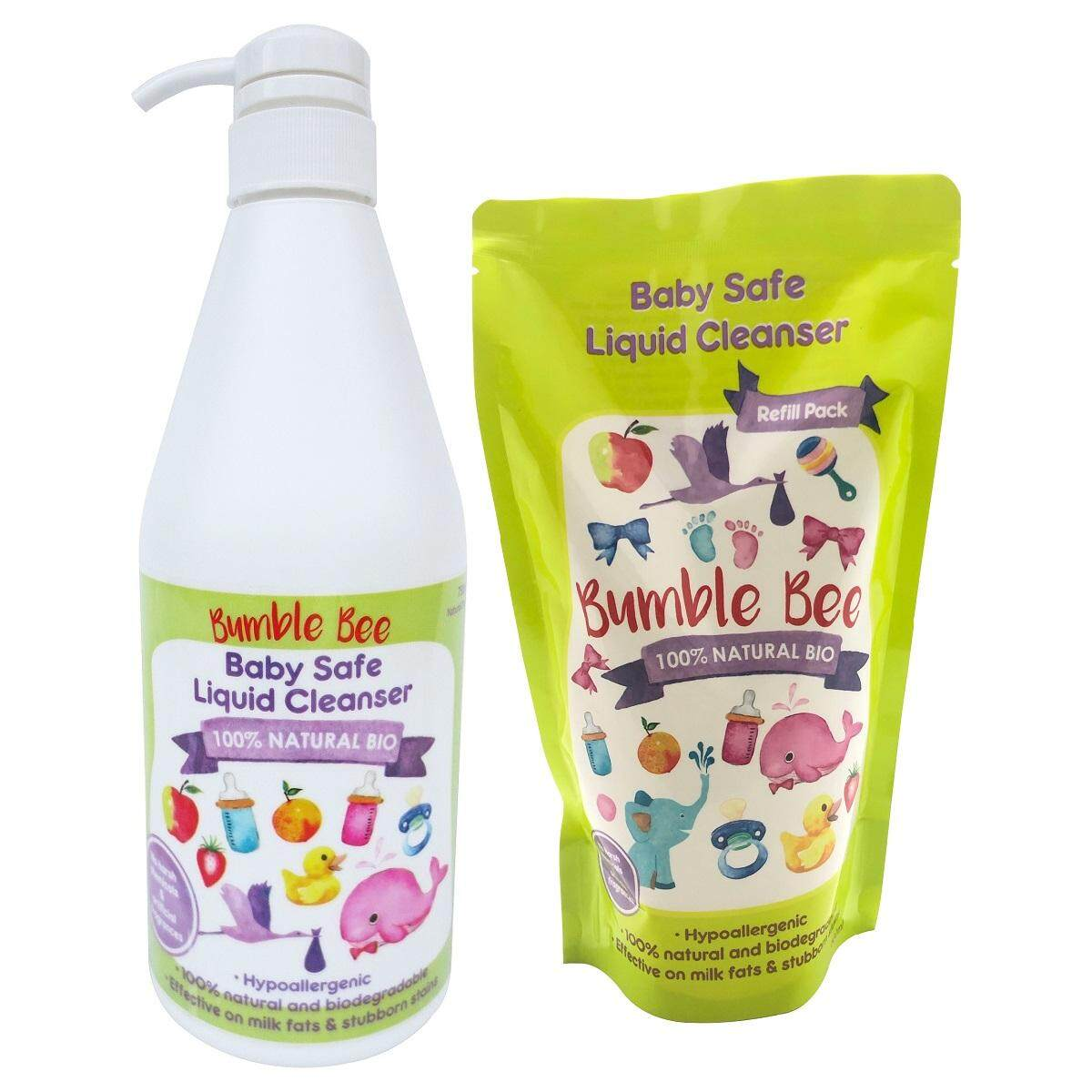 Bumble Bee Baby Safe Liquid Cleanser (Twin Pack)