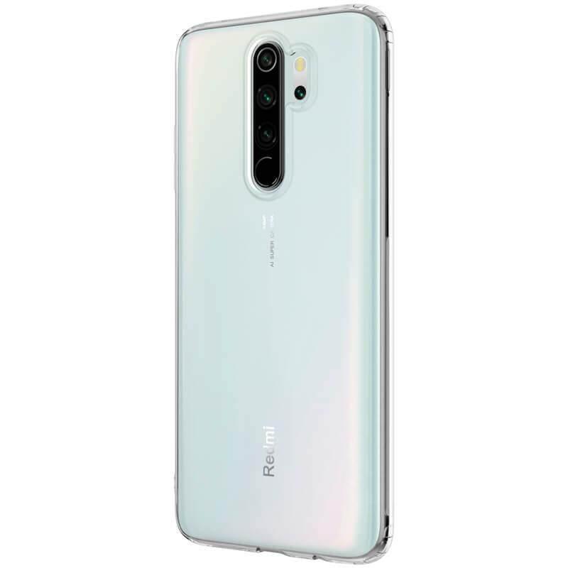 TPU Silicone Soft Gel Case for XIAOMI Redmi Note 8, Note 8 Pro (Transparent)