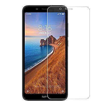 Tempered Glass for Xiaomi Redmi 7A - 2.5D Curve Screen Protector [Full Cover Black]