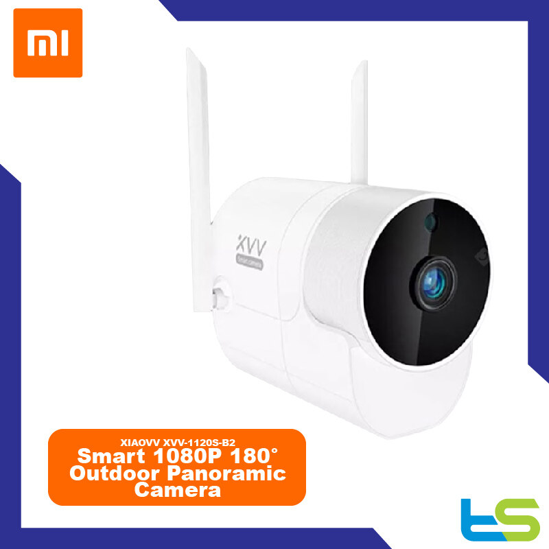 Xiaovv XVV-1120S-B2 Smart 1080P 180° Outdoor Panoramic Camera Onvif Waterproof H.265 Infrared Night Vision Home Safety Baby Monitor ( Xiaomi Ecosystem Product ) - White
