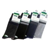 Semlouis Men Quarter Crew Socks - Double Stripes / PAIR