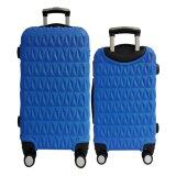 "Set of 2: 20"" + 24"" Triangle Diamond Hard Suitcase [Dark Blue]"