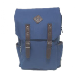 Smiley Daily Backpack & Casual Student School Backpack - Blue