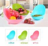 Zeco 2 Pieces Fashionable  Fruit Tray / Basket / Drainer