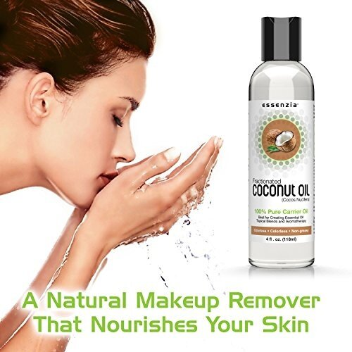 Coconut oil as makeup remover