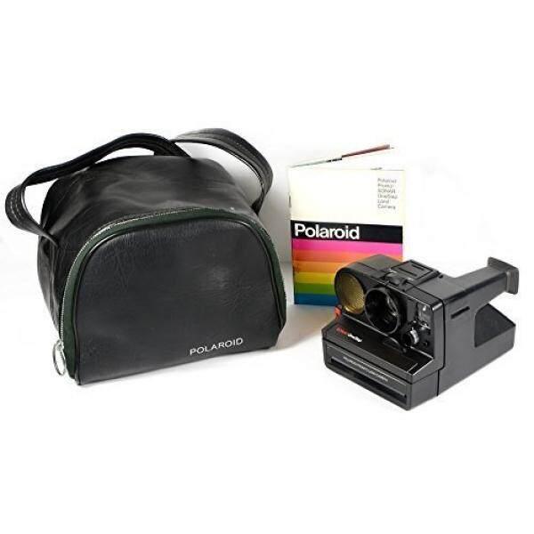 Polaroid Pronto Sonar Onestep Instan Film Land Kamera Dalam Tas dan Manual-Internasional
