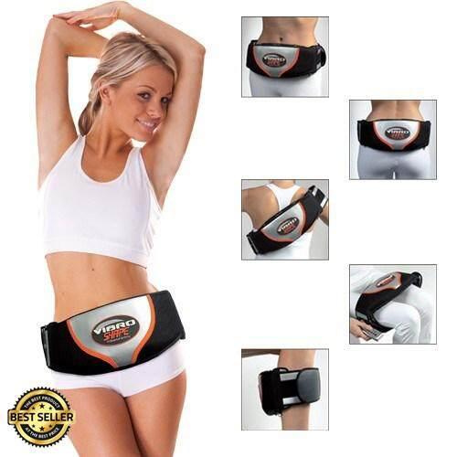 Slimming Vibro Shape Professional Vibration Tone Body Toning Belt Massage La