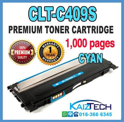 Samsung 409 / CLT-C409S Cyan Compatible High Quality Colour Laser Toner Cartridge For Samsung CLP 310 / 310N / 315 / 315W / CLX 3170 / 3175 / 3175N / 3175FN / 3175FW Printer Toner