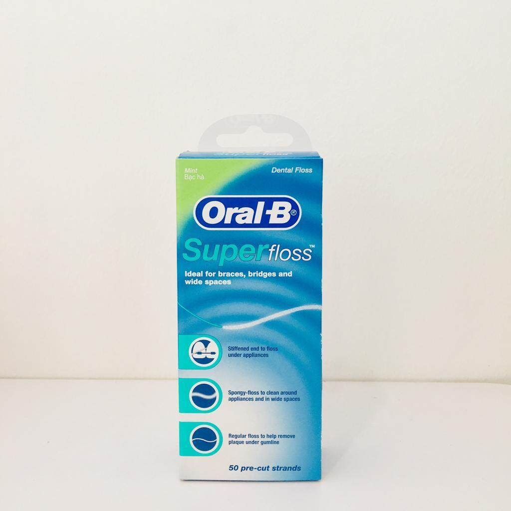 Oral B Super Floss 50 Pre Cut Strands