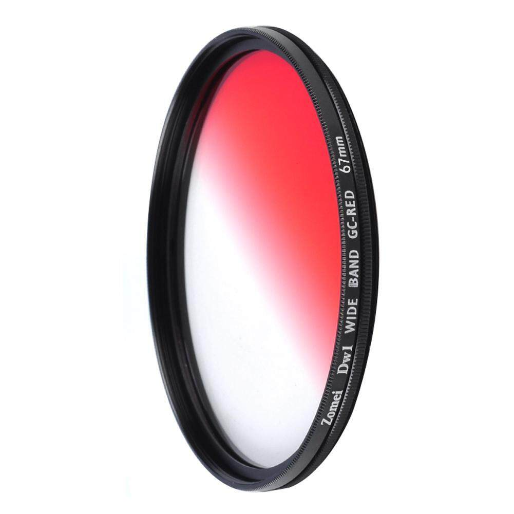 58 Mm/67 Mm Ultra Ramping Filter Warna Lensa Perlengkapan untuk Canon Nikon (Merah)-67 Mm