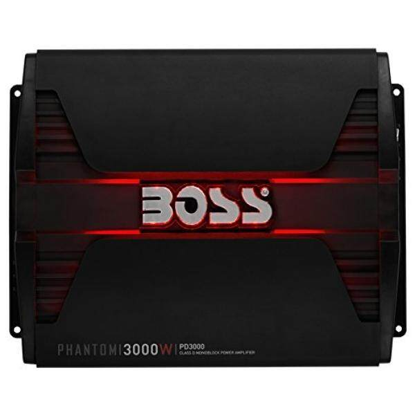 [From.USA]BOSS AUDIO PD3000 Phantom 3000-Watt, 1, 2, 4 Ohm Stable Class D Monoblock Car Amplifier with Remote Subwoofer Control B00011KLXE - intl