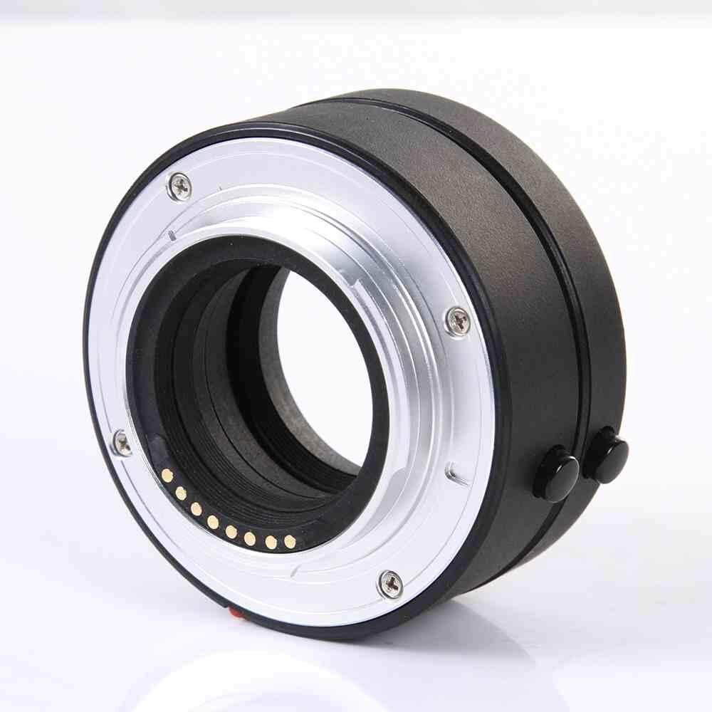 Hitam Otomatis Tabung Ekstensi Makro Cincin Set 10 Mm + 16 Mm UNTUK Panasonic M4/3
