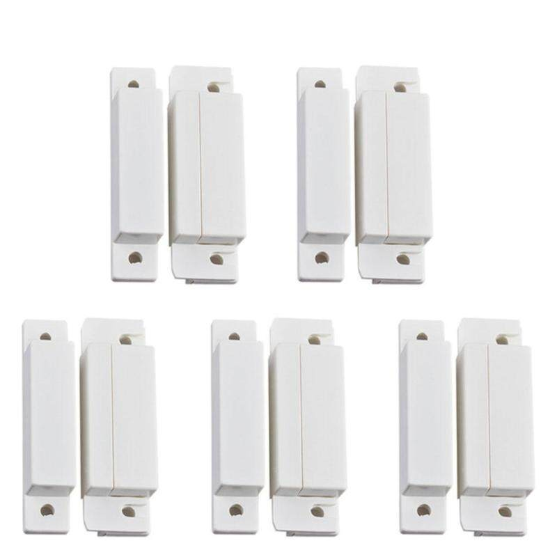 5 Pairs MC-31 Wired Door Window Sensor Magnetic Switch For Home Alarm System Detector
