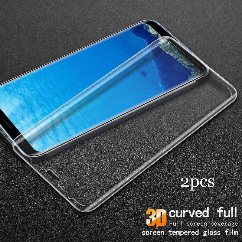 2pcs For Samsung Galaxy S8 Tempered Glass Screen Protection Tempered Glass 3D Curved Edge For Galaxy