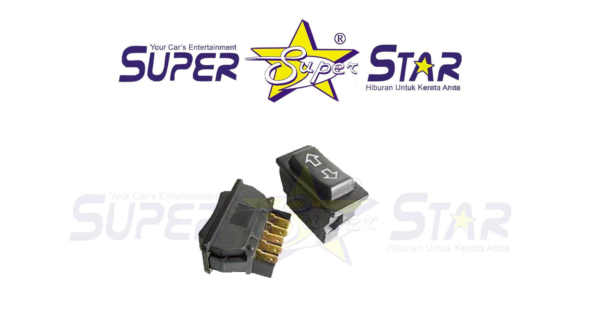 Power Window Single/Sub Switch 5 Pin For Proton Saga/Iswara