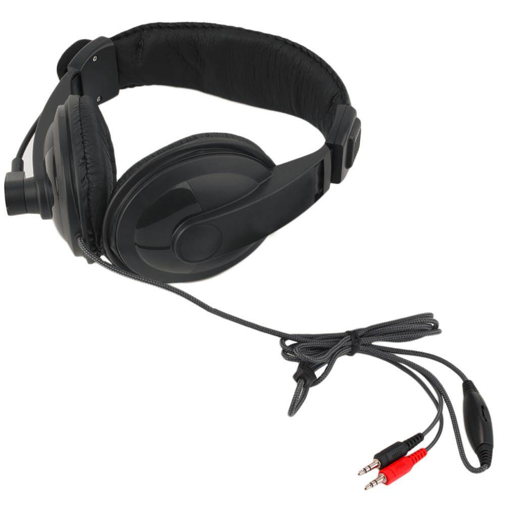 Watson 2018 New Wired Headphones Business Bass Stereo 3.5mm Headset with Microphone Mic for Game Computer PC Laptop Promotion Meeting - intl