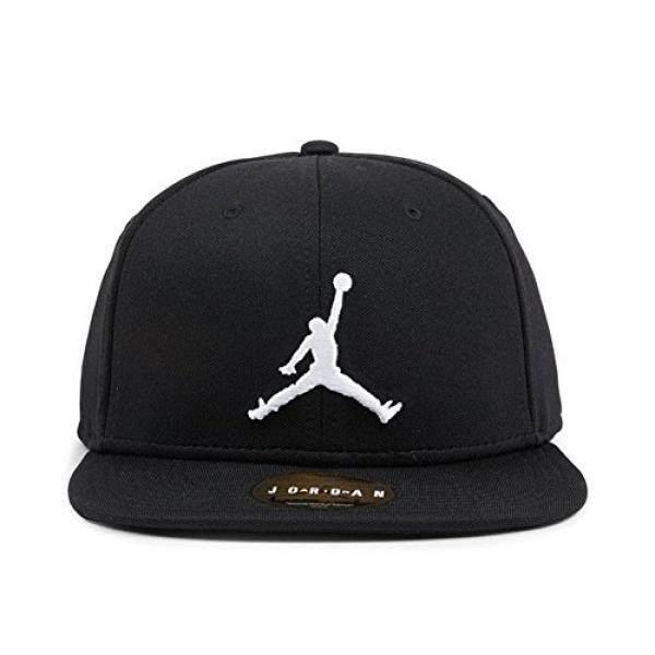 e9923c685b6f Nike Mens Jordan Jumpman Snapback Hat Black White 861452-013 - intl  Philippines